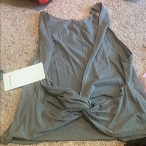 Lululemon twist it tank